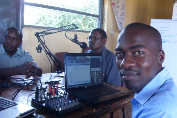 Radio Training at Radio Tsavo