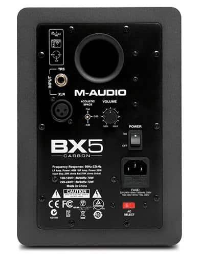 M-Audio BX5 Carbon Back