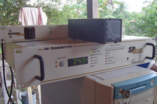 The FM transmitter