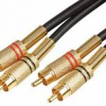 10m Stereo Phono to Stereo Phono Lead