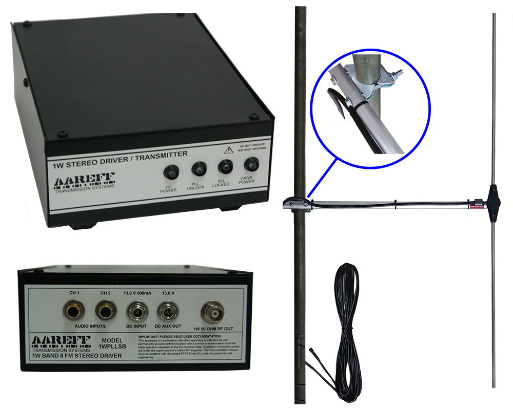 Radio Equipment Packages Lets Get Your Station On The Air Fm Broadcast Receiver 1w Transmission System