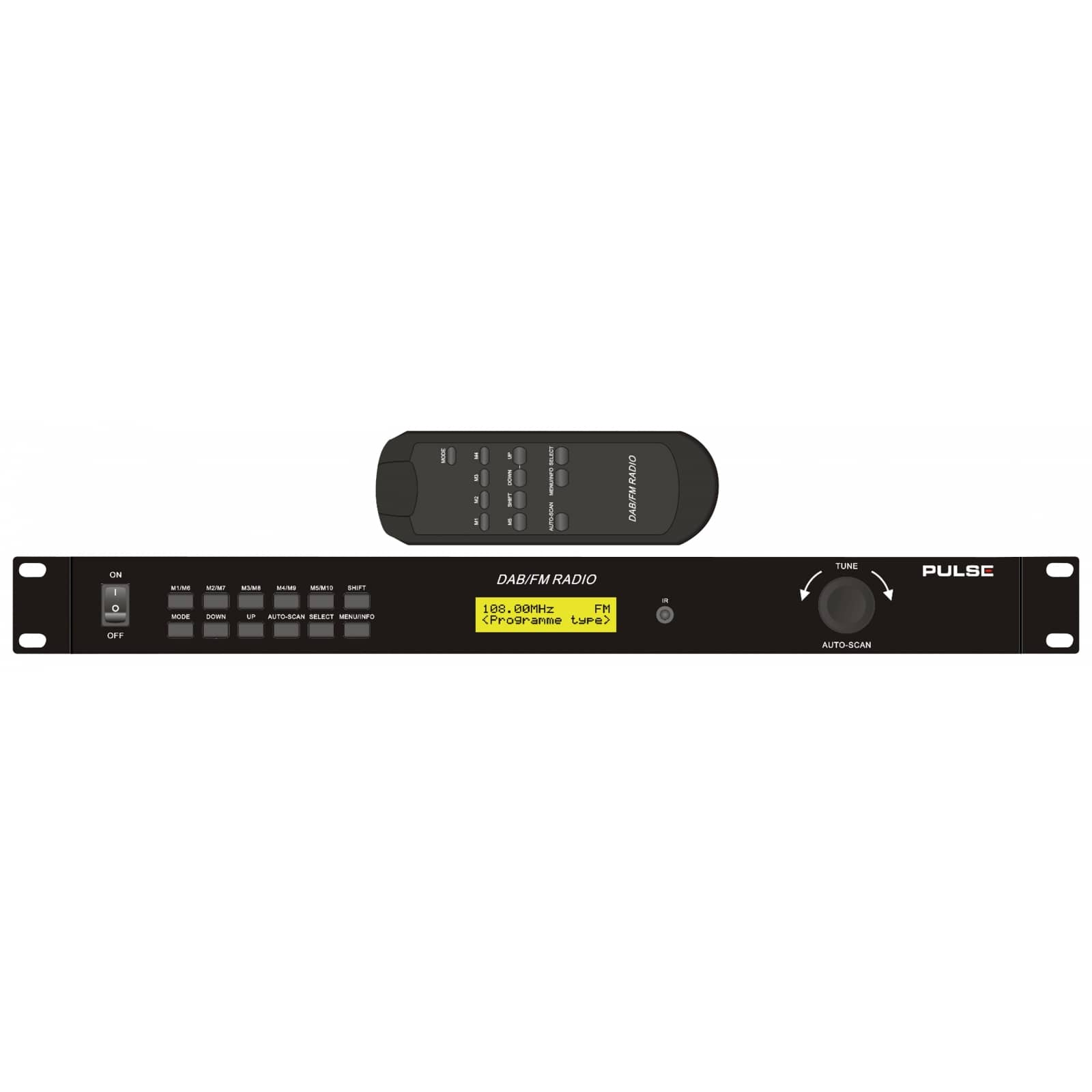 Dab / dab + radio with fm tuner bluetooth function alarm with adjustable interval