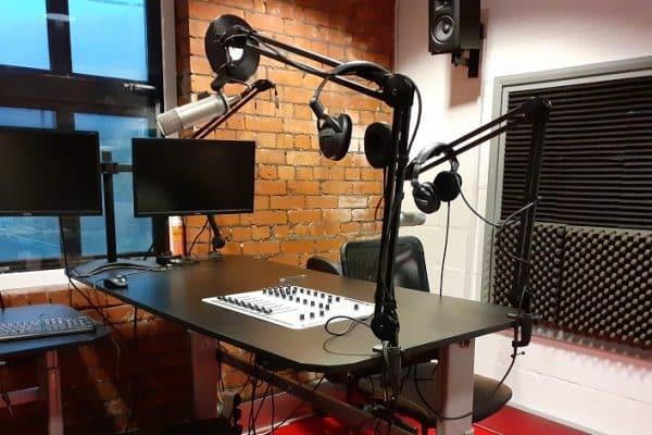 Radio Studio at Radio Porth
